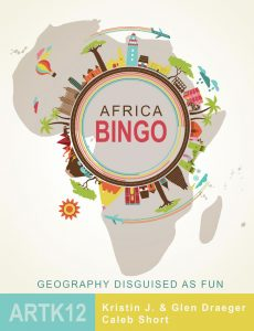 The cover of Africa Bingo by Kristin J. Draeger, Glen Draeger and Caleb Short